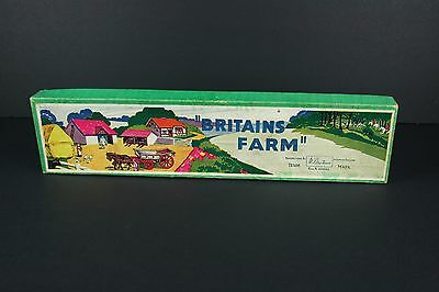 Britains Farm Animal Play Set No. 53F Box Only Vintage old toys