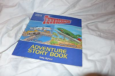 "Thunderbirds Adventure Story Book ""Day of Disaster"" ""Martian Invasion"""