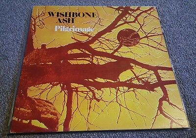 Wishbone Ash Pilgrimage LP UK Pressing Red and Yellow Label EXCELLENT CONDITION