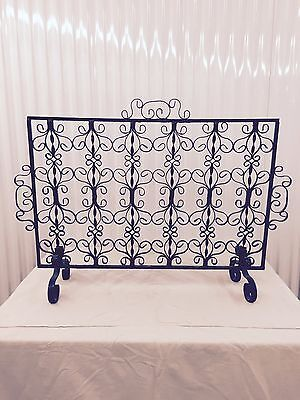 Antique Fireplace Screen - From France