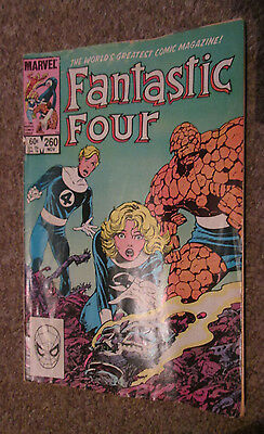 marvel comics #260 - fantastic four