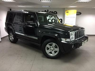 Jeep Commander 3.0CRD V6 auto Limited 7 Seats/ Leather/ Sunroofs/4WD