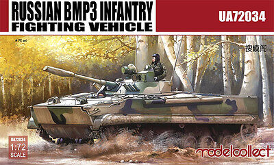 UA72034 Russian BMP3 Infantry Fighting Vehicle  ModelCollect 1:72 miodel kit