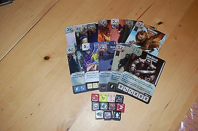 Wizkids Dicemasters Dungeons and Dragons cards and dice