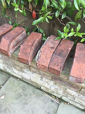 Reclaimed Red Cant Bricks