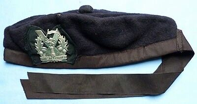 Scarce Original Ww2 British Army Scottish Tyneside Regiment Glengarry Cap