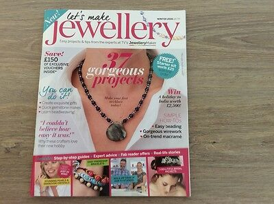 magazine -lets make Jewellery -Winter  2016 issue