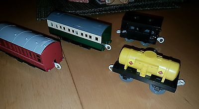 Tomy Trackmaster Thomas and friends train. Assorted goods wagons and carriages