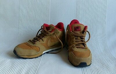 Baskets Nike Md mid runner 2 ocre / rouge 45