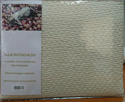*new* King Size Bedspread/ Throw Featured In **elle Decoration** Jacquard Woven