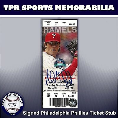 Andrew Miller Signed Florida Marlins Ticket Stub Autograph Auto Mlb