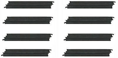 "Micro Scalextric 1:64 Track Spares - G101 / L7553 - 15"" Long Straight x 8"