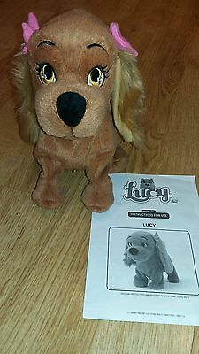 lucy the puppy dog interactive toy