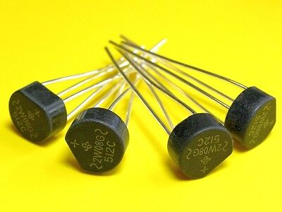 [50 pcs] VISHAY 2W08G Bridge Rectifier 2A 800V