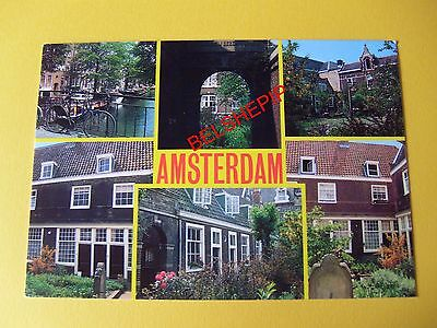 Amsterdam, Postcard, Posted July 1994
