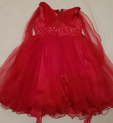 girls party dress aged 2-3