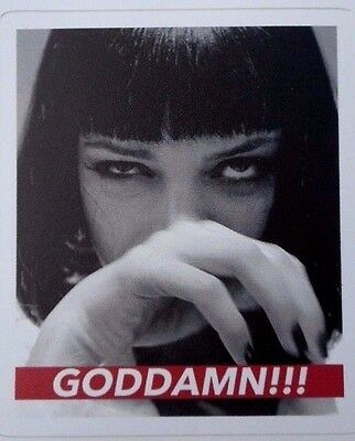 Pulp Fiction Mia Wallace Sticker/Decal New