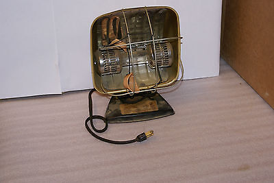 Vintage Electronic Sun Lamp Tanning Sperti Faraday P108 Tested and Working
