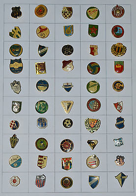 Yugoslavia Jugoslawien Football Soccer Fussball Anstecknadel Pin Badge lot of 50