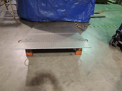Truck Dock Plate, 5'x4' 3/8 Thick