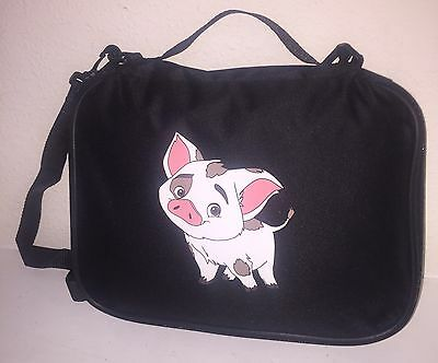 TRADING BOOK FOR DISNEY PINS Moana Pua Pig LARGE/MED PIN BAG