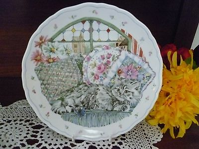 The Country Kitten  Collection  No.4  Plate Royal Albert Made In England