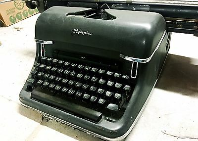 PRICE DROP! From $225 To $190! Olympia 7.6 Deluxe Vintage Typewriter