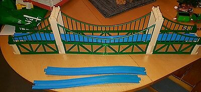 Tomy Trackmaster Thomas The Tank Engine Large Suspension Bridge And Track Pieces