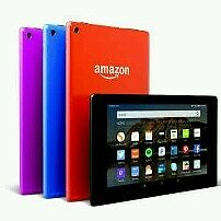 """All New - Amazon Kindle Fire HD 8 Tablet 8"""" HD Display 16 GB Front & Rear Camera"""
