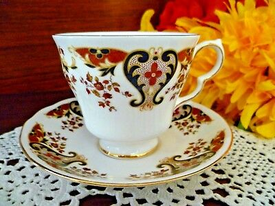 Colclough Bone China Made In England Royale Tea Cup & Saucer