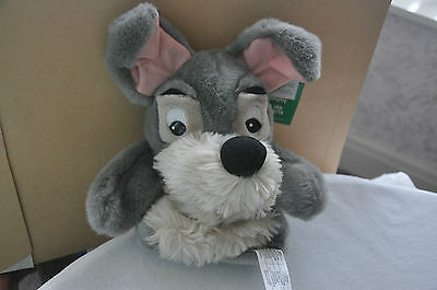 New with tags Disney Exclusive Lady & The Tramp, Tramp handpuppet