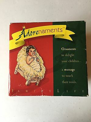 ADORENAMENTS BY FAMILY LIFE Biblical Christmas Ornaments Names of Jesus