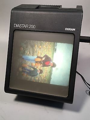 Vintage Osram Diastar 200 Large Screen Slide Viewer