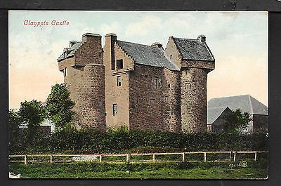 Nice Printed Postcard Of Claypots Castle Dundee Angus Posted 1909
