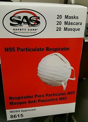 N95 Particulate Respirator Mask (20)
