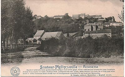 Cpa Sautour - Philippeville : Panorama