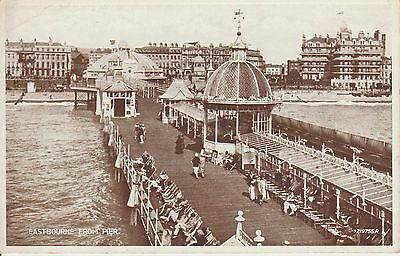 Eastbourne - From Pier - Hampshire -  Real Photo Postcard