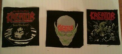 Kreator vintage patches lot