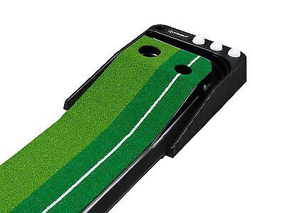 LEVELGOLF - Dual-Track ProEdge Indoor Putting Green - Extra Long 10.5 Feet Ma...