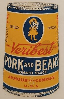 Early 1916 Veribest Pork and Beans Recipe Book