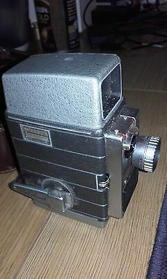 Vintage Bell and Howell Autoset 624EE 8mm movie camera with  case Telephoto lens