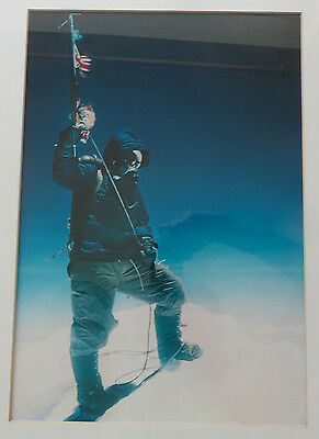 Mount Everest 1st Ascent 1953 Expedition Ltd Edition Photo Tensing Norgay, rare
