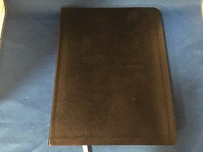 "Tony Robbins - Black Leather Desk Journal - 9.75"" x 7.25"""