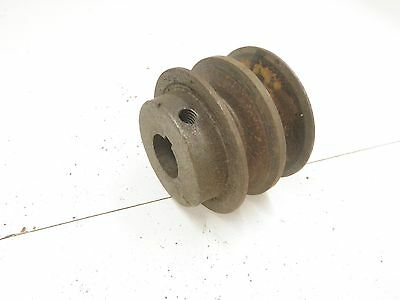 "2 1/2"" X 3/4 Bore  2 Sheave Pulley"