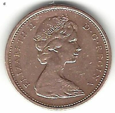 1965 Canadian Cent Variety 1...Nice coin !!!