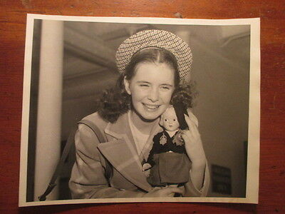 Margaret O'brien Original 1953......international News Press Photo