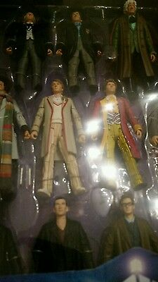Dr Who The Eleven Doctors Figure set