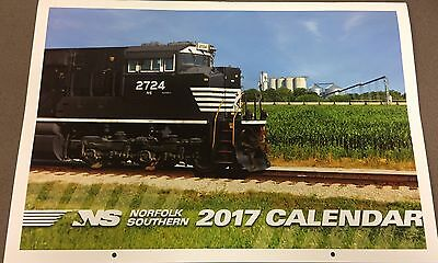 New! 2017 Norfolk Southern Railroad Calendar