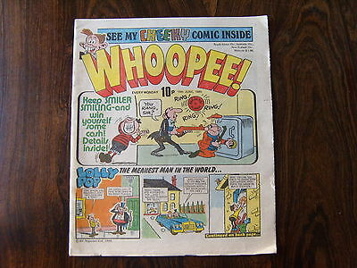 WHOOPEE COMIC - 14th JUNE 1980 - FN/VF - IPC MAGAZINES     a