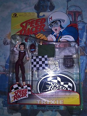 Speed Racer - Trixie Action Figure! Resaurus!!